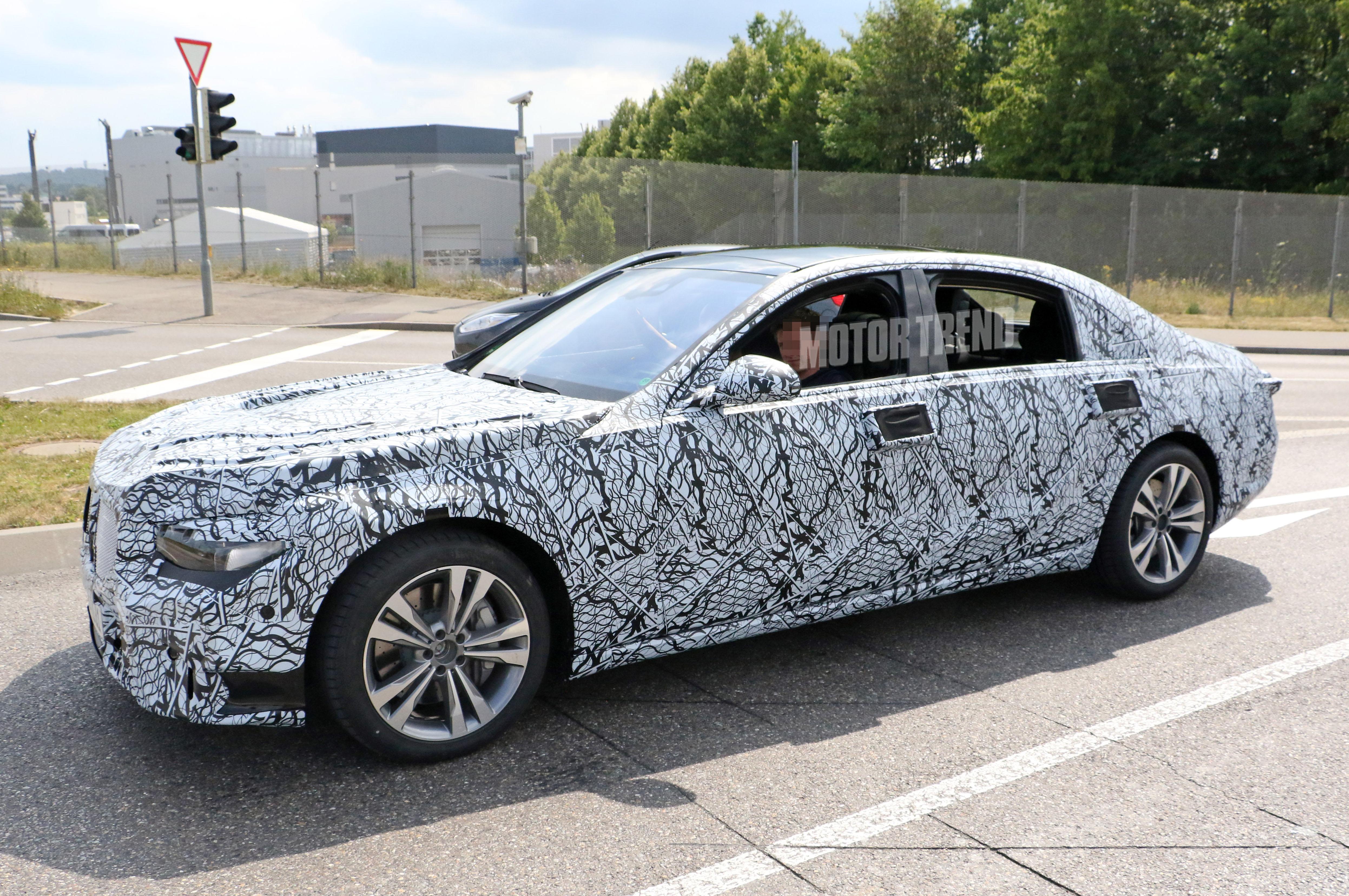 Next Gen Mercedes Benz S Class Prototype Side