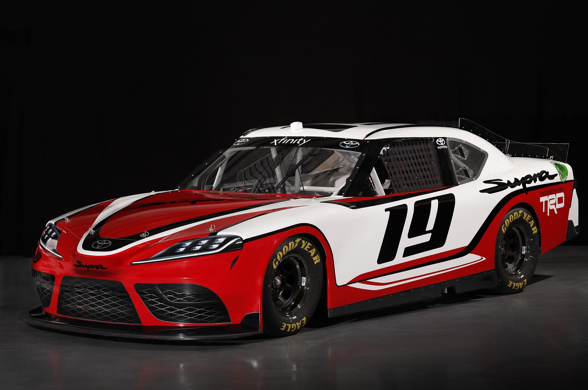 Toyota Supra Race Car 1