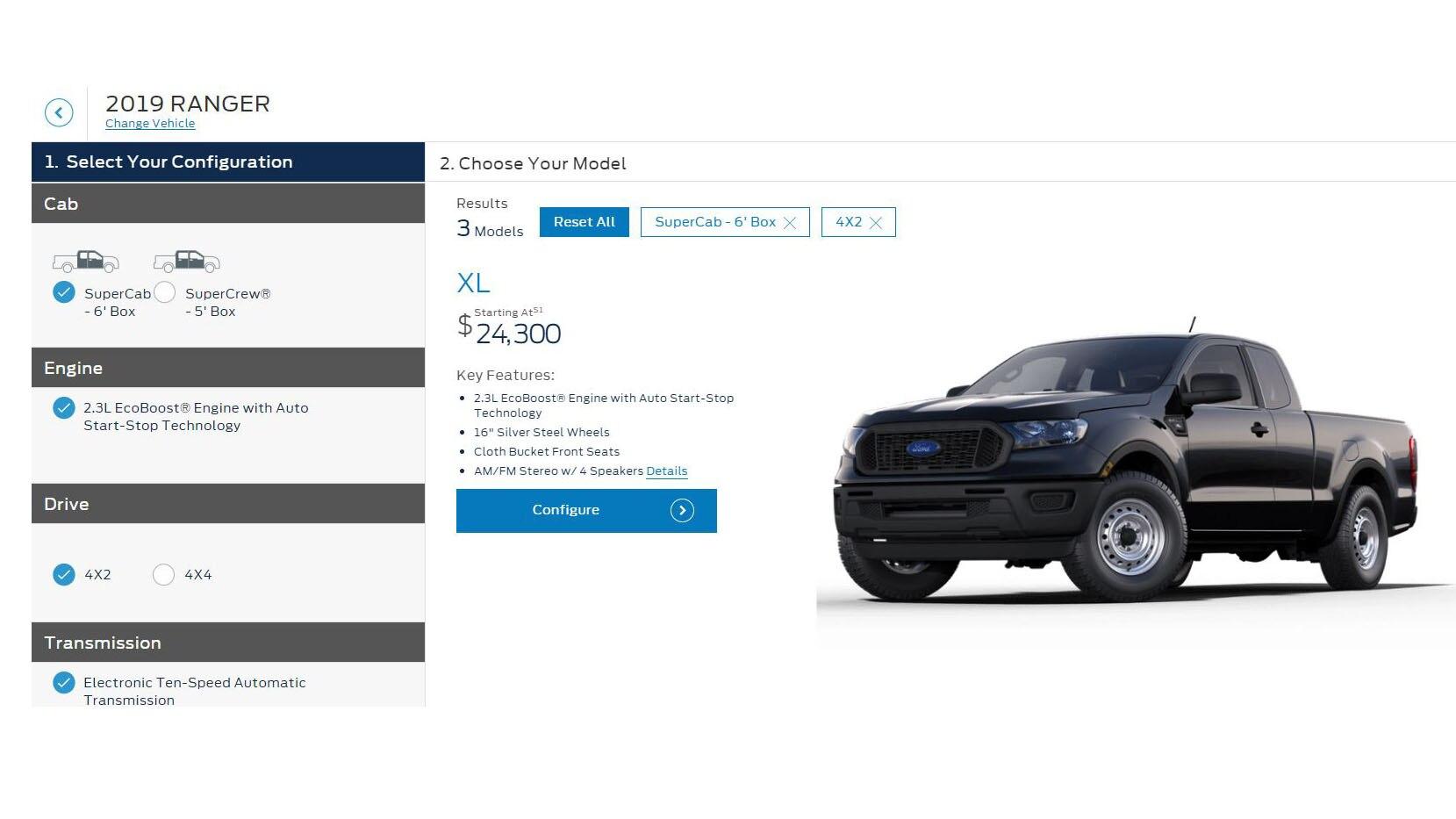 Ford Ranger 2019 Disponible Desde 25 395 Dolares Motor Trend En Espanol