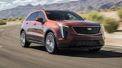 2019 Cadillac XT4 2 0T AWD Front Three Quarter In Motion 5