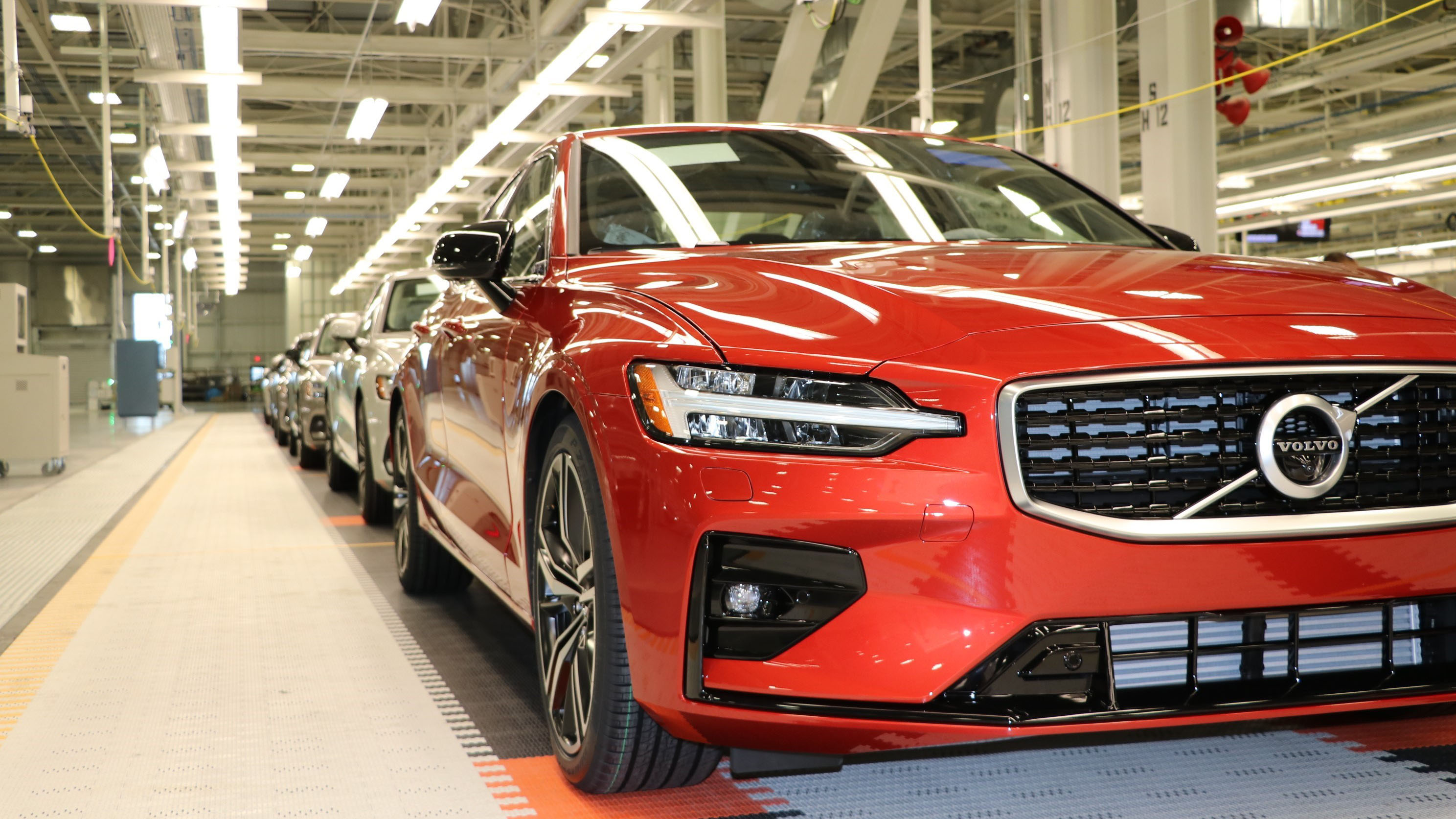 2019 Volvo S60 Production South Carolina