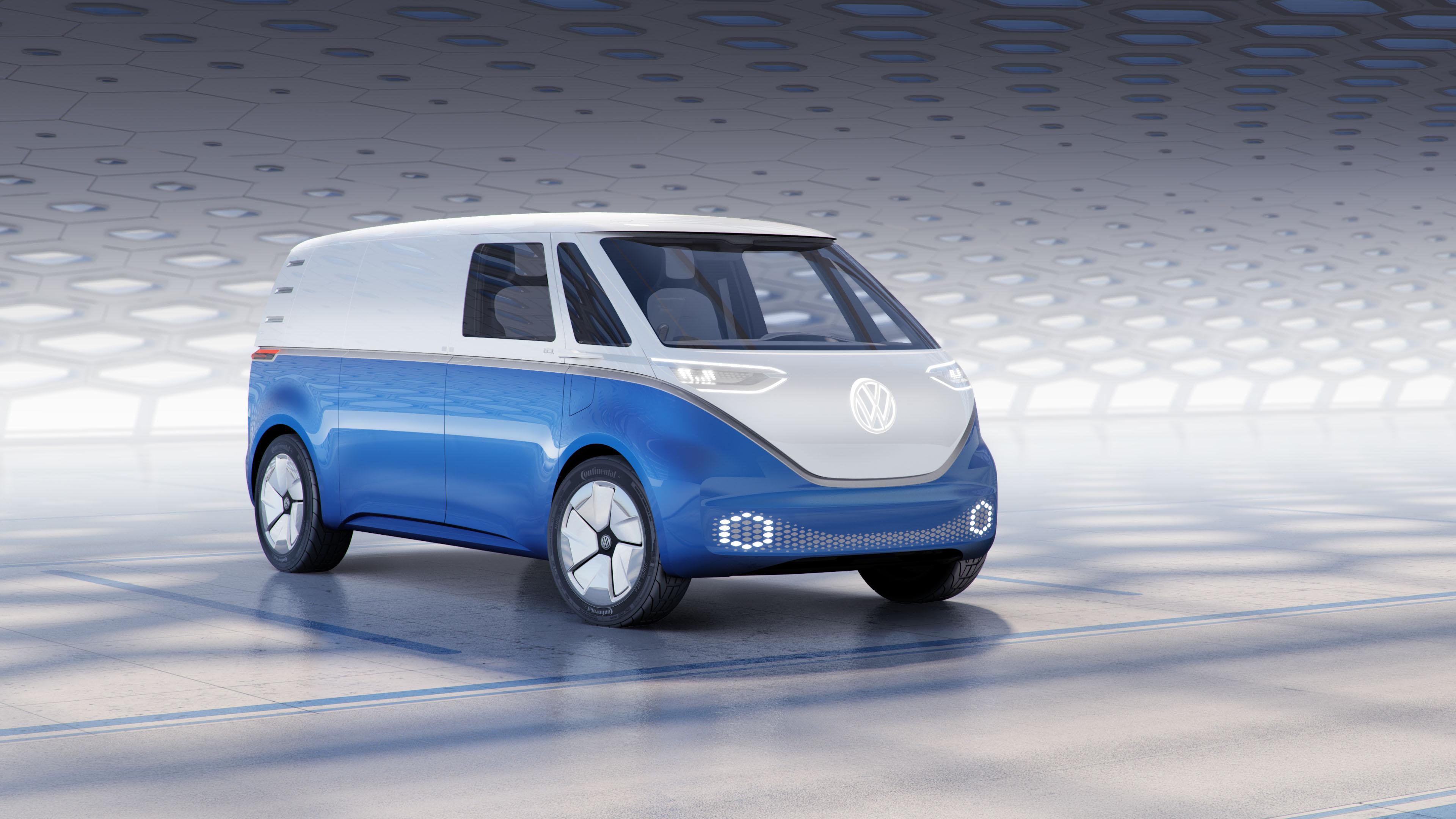 Volkswagen ID Buzz Cargo Front Three Quarters