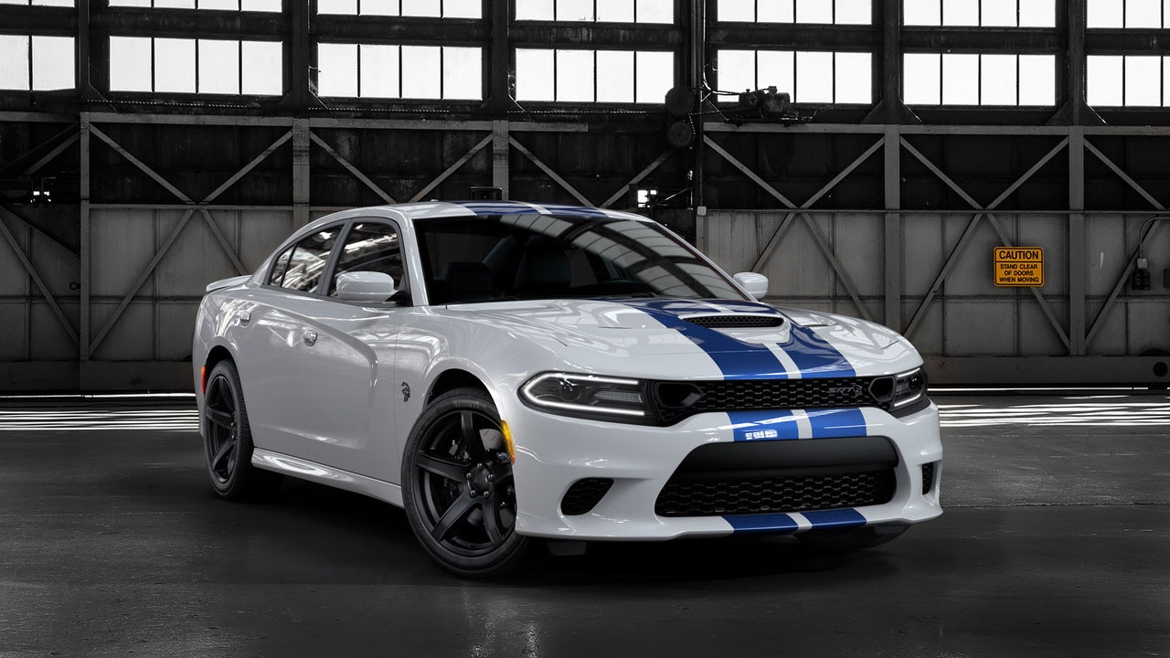 2019 Dodge Charger SRT Hellcat Blue Stripe