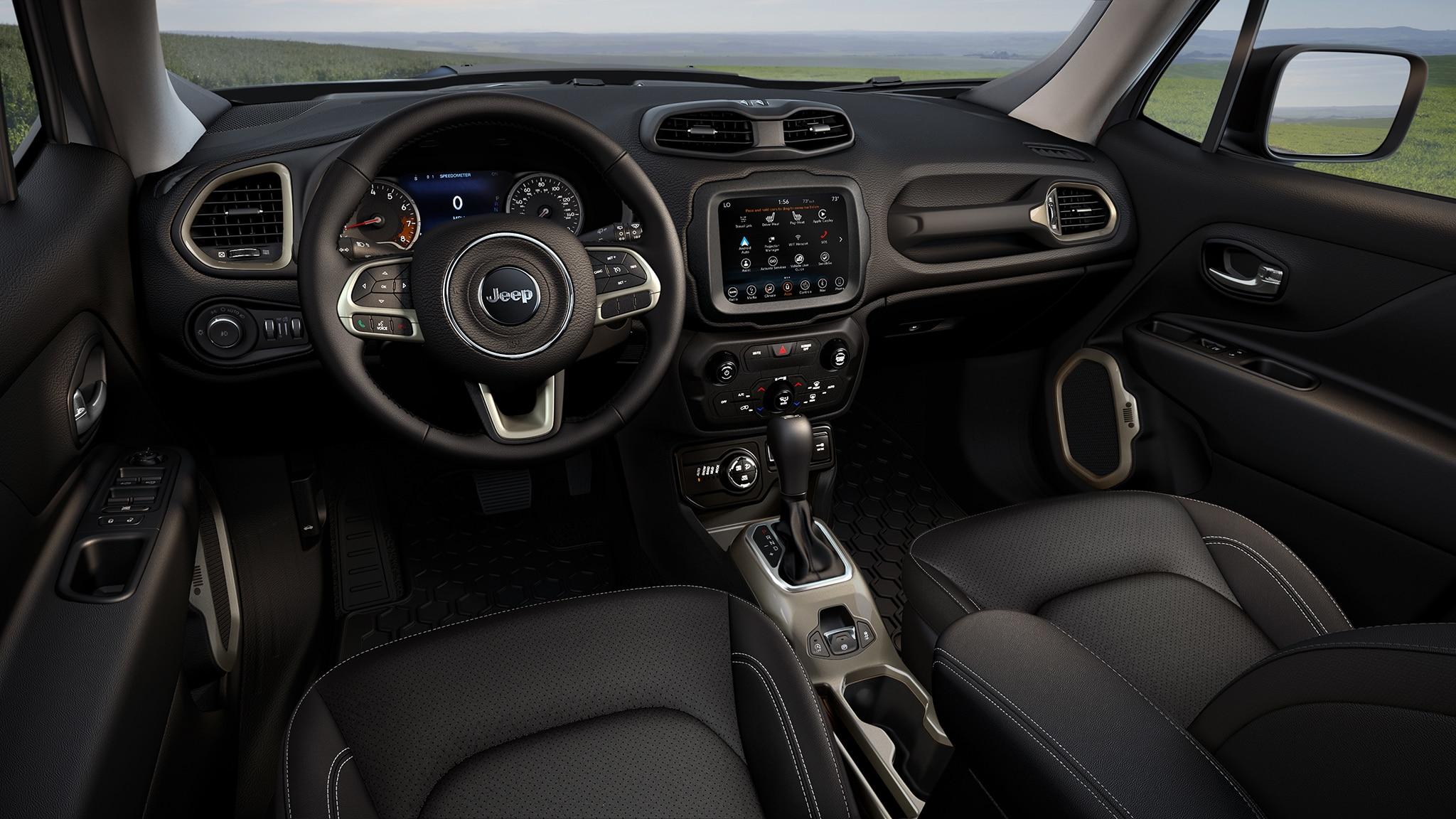 Jeep Renegade Interior >> 2019 Jeep Renegade Limited Interior Motor Trend En Espanol