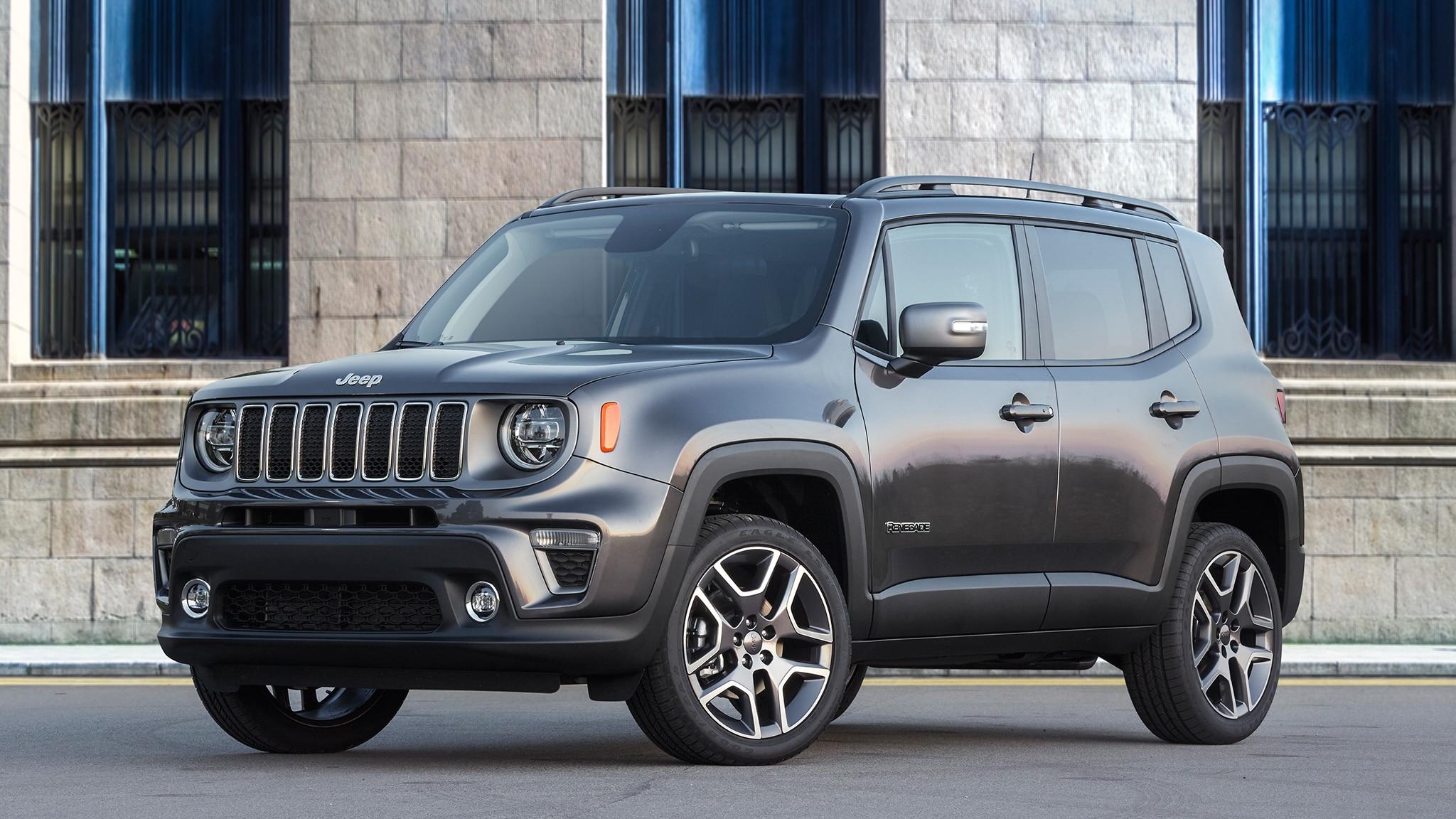 2019 Jeep Renegade Front Three Quarter