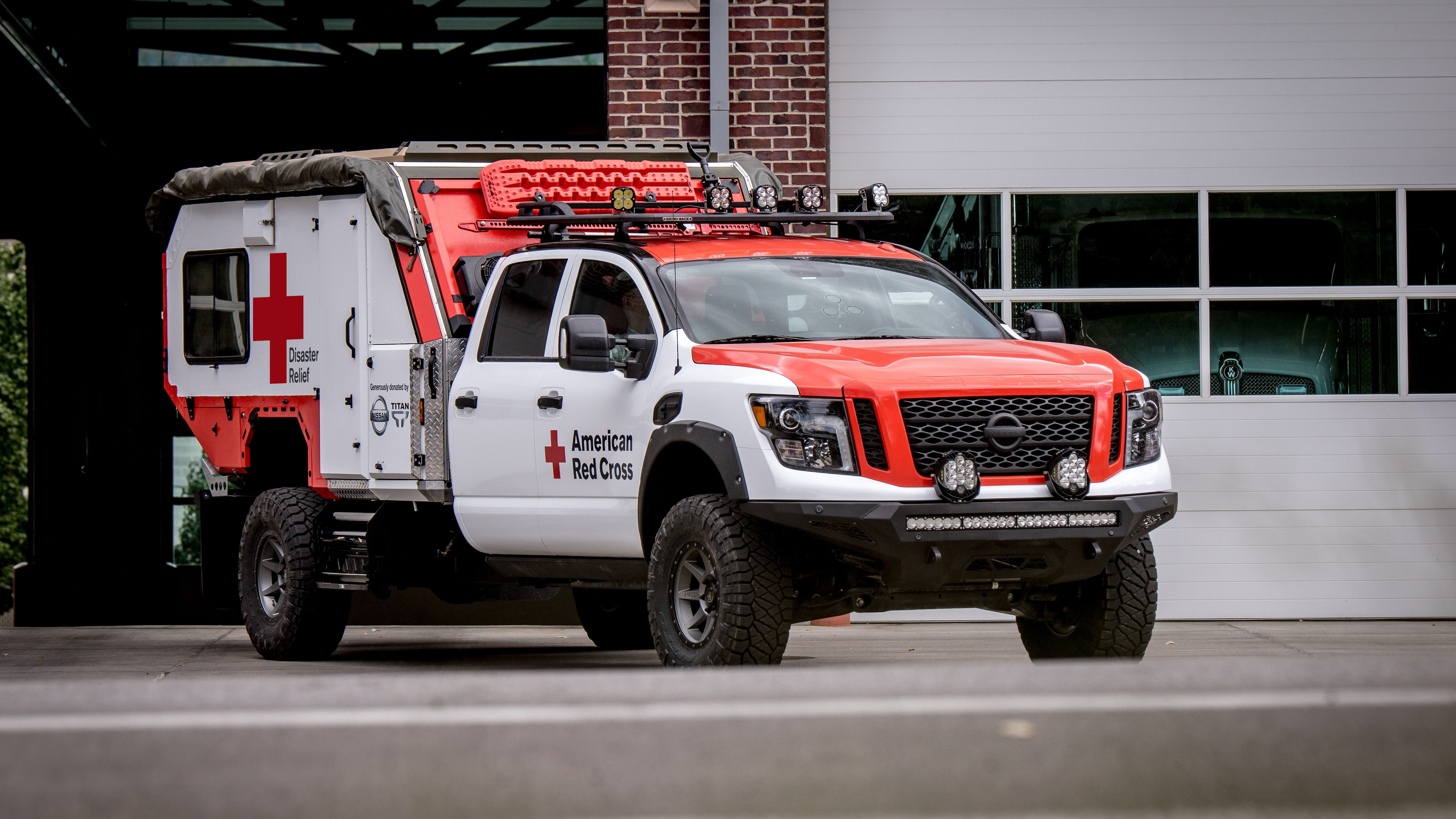 Nissan Titan XD Red Cross 15