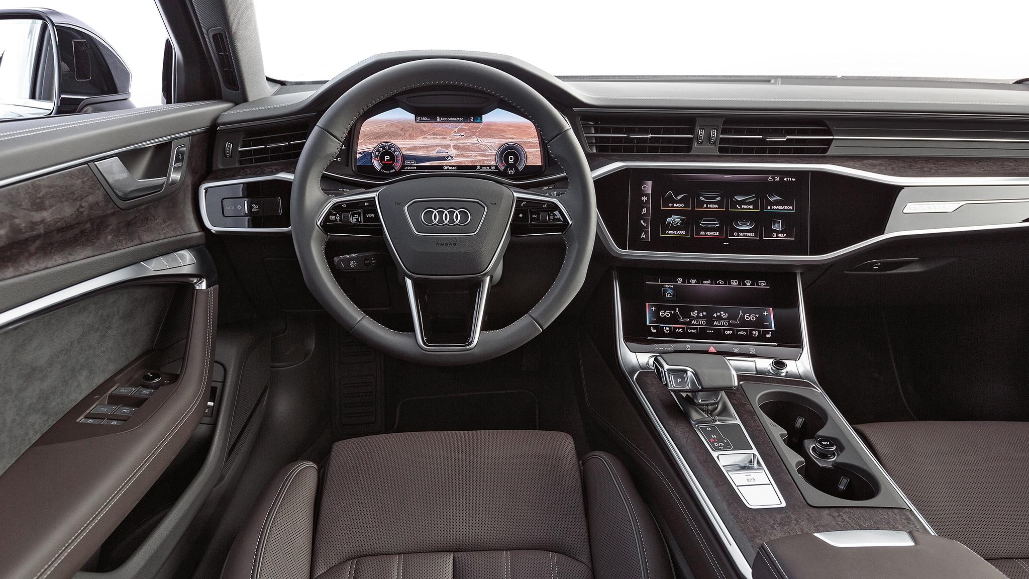 2019 Audi A6 3 0t Quattro Dashboard Motor Trend En Español