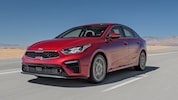 2019 Kia Forte EX Front Three Quarter In Motion