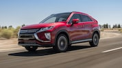 2019 Mitsubishi Eclipse Cross Front Three Quarter In Motion 2