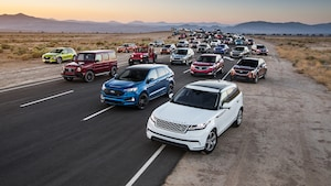 2019 Motor Trend SUV Of The Year Contenders