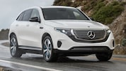 2020 Mercedes Benz EQC 400 Prototype Closer
