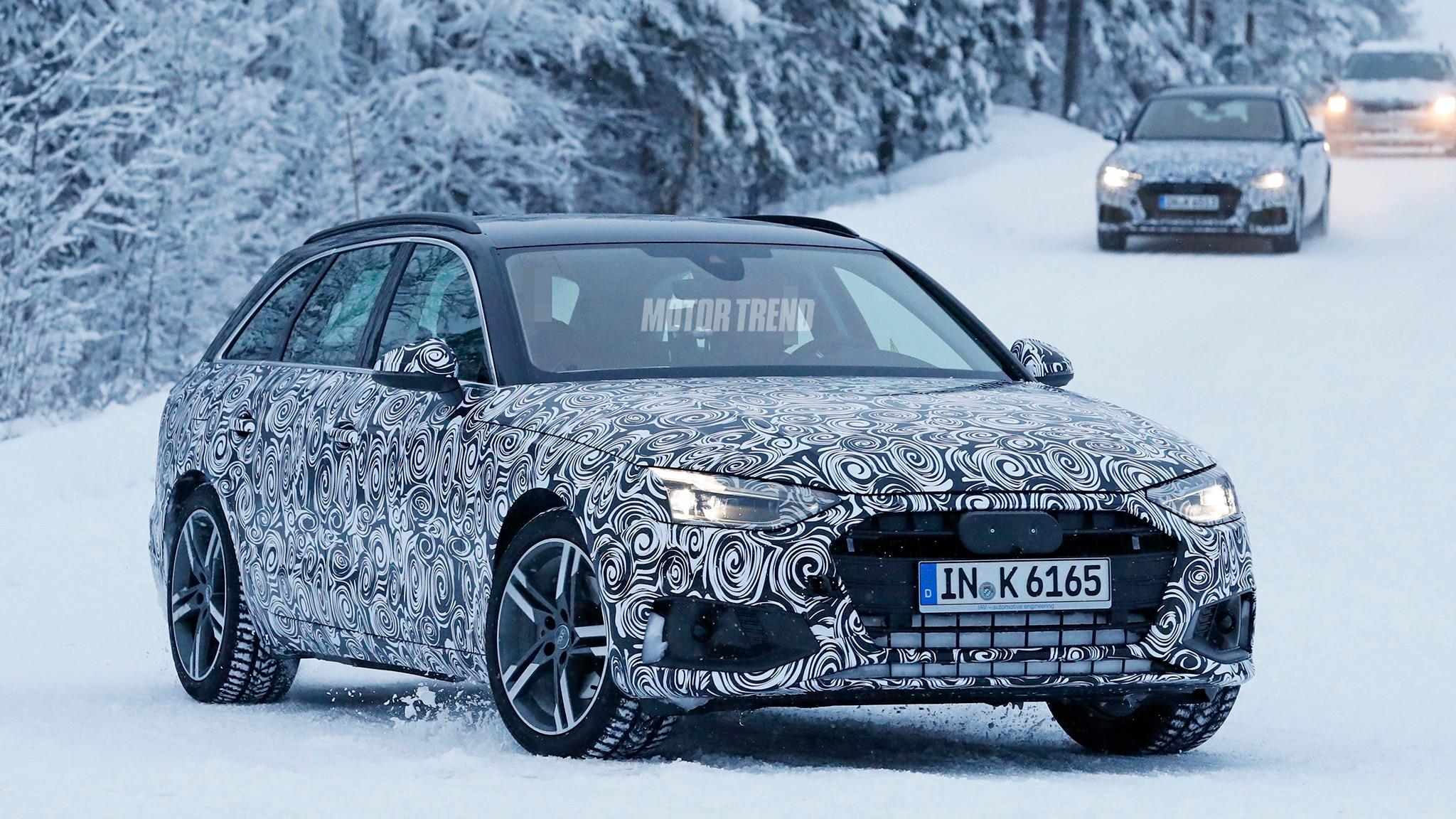Audi A4 Avant Facelift 4
