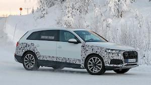 Audi Q7 Prototype Front Three Quarter Look