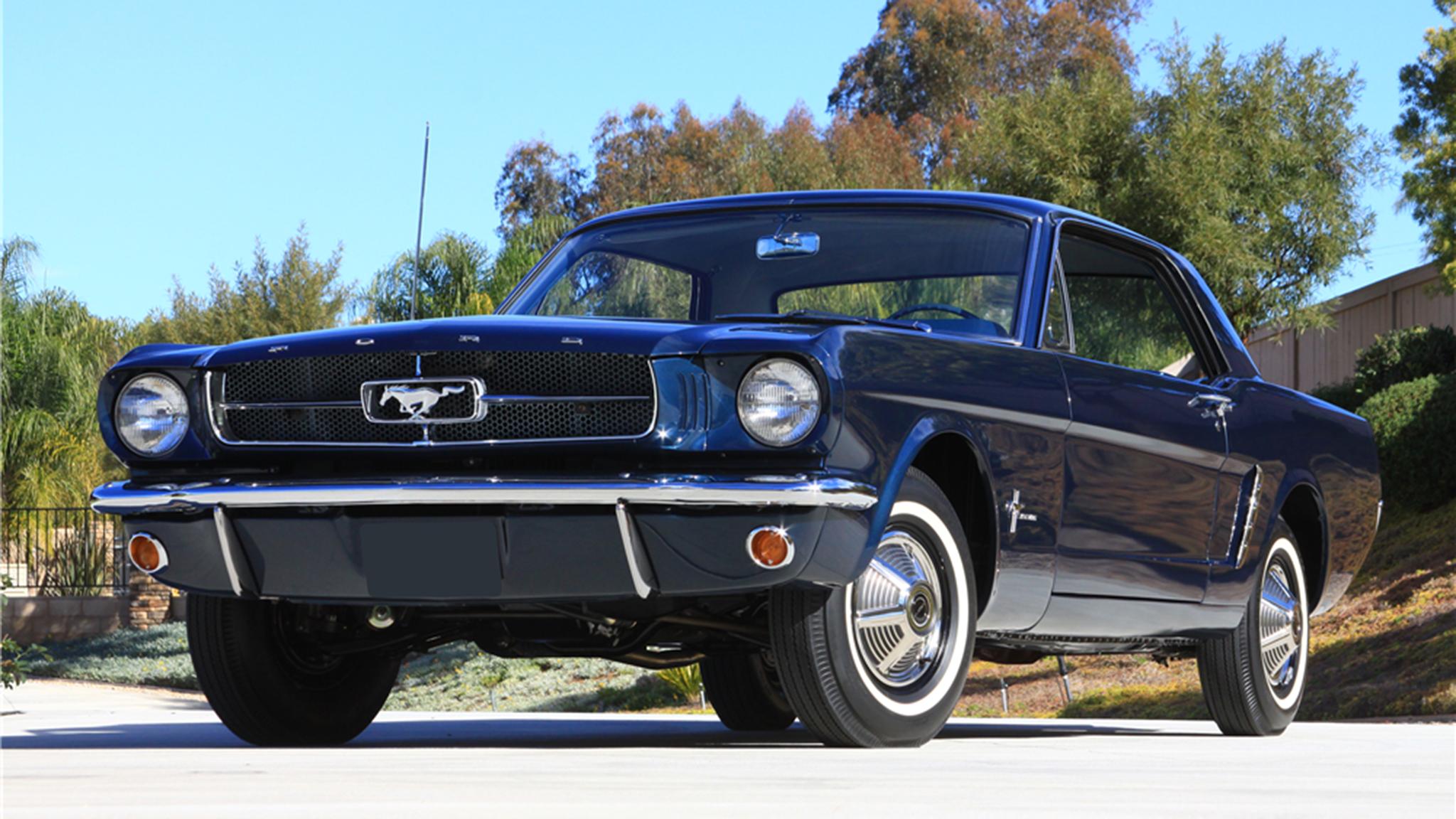 1965 Ford Mustang Barrett Jackson 1 Copy