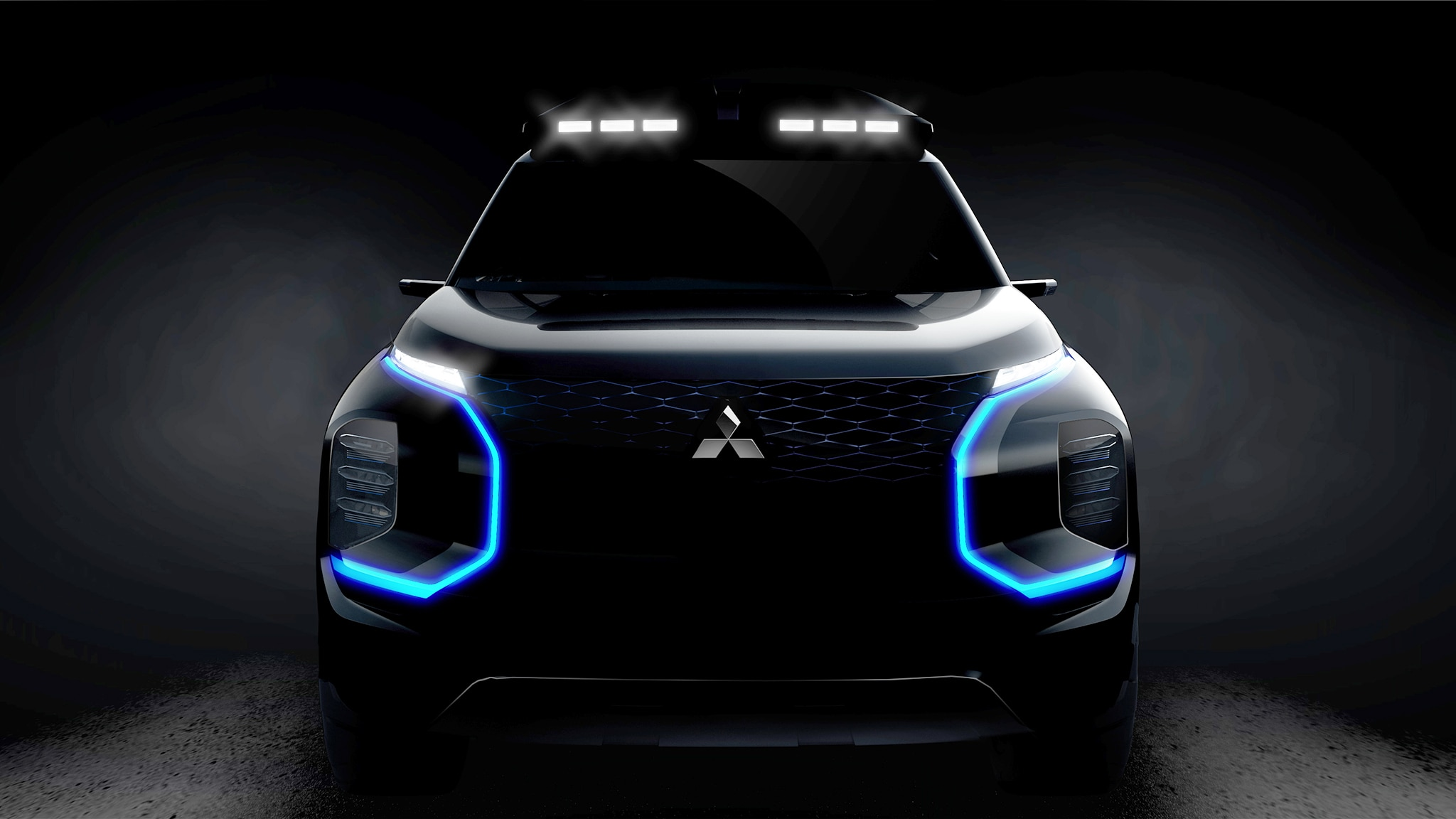 2019 Mitsubishi GMS Teaser 1