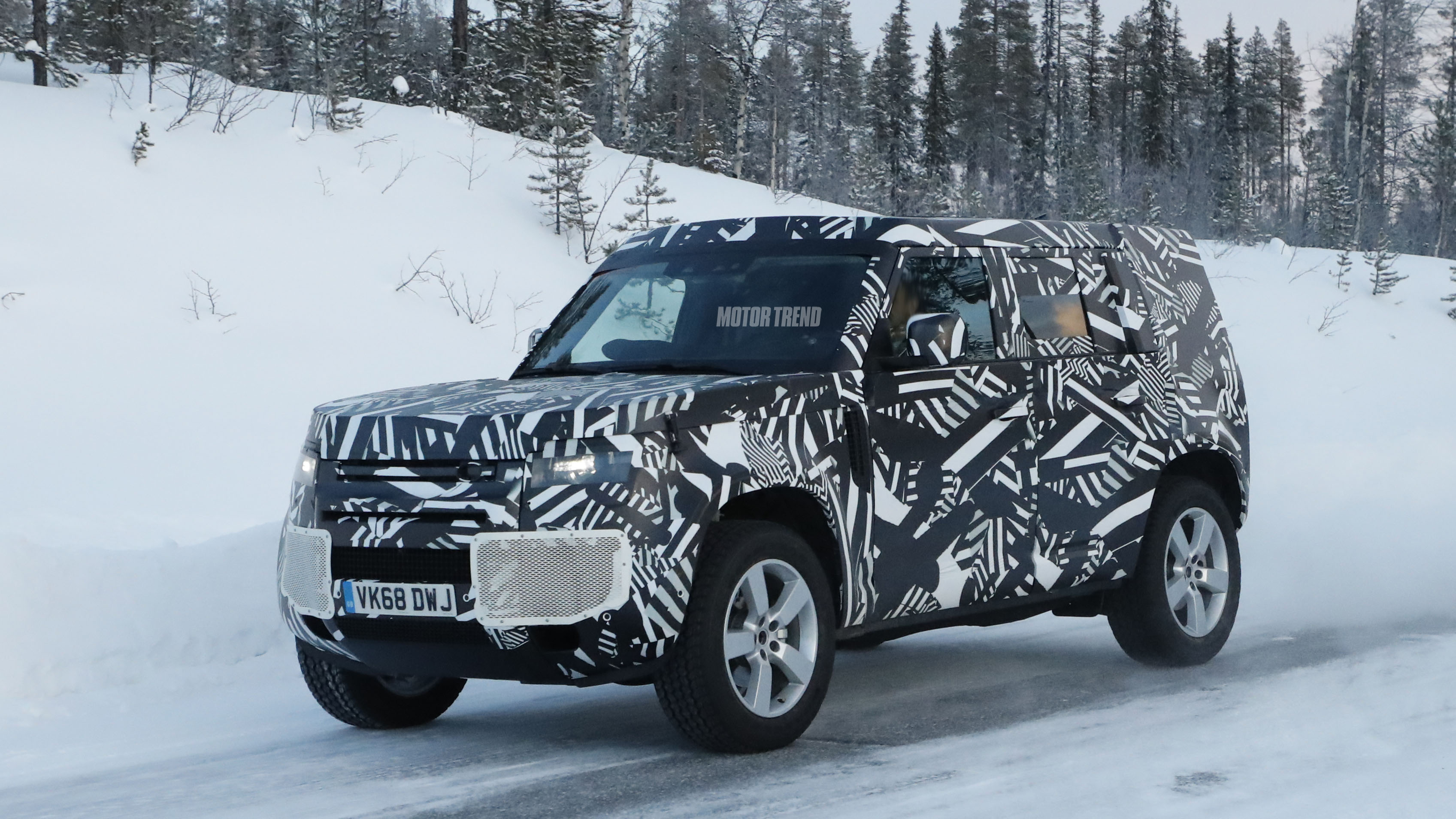 2020 Land Rover Defender Prototype Side Profile
