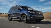 2019 Honda Passport Elite AWD Front Three Quarter In Motion 4