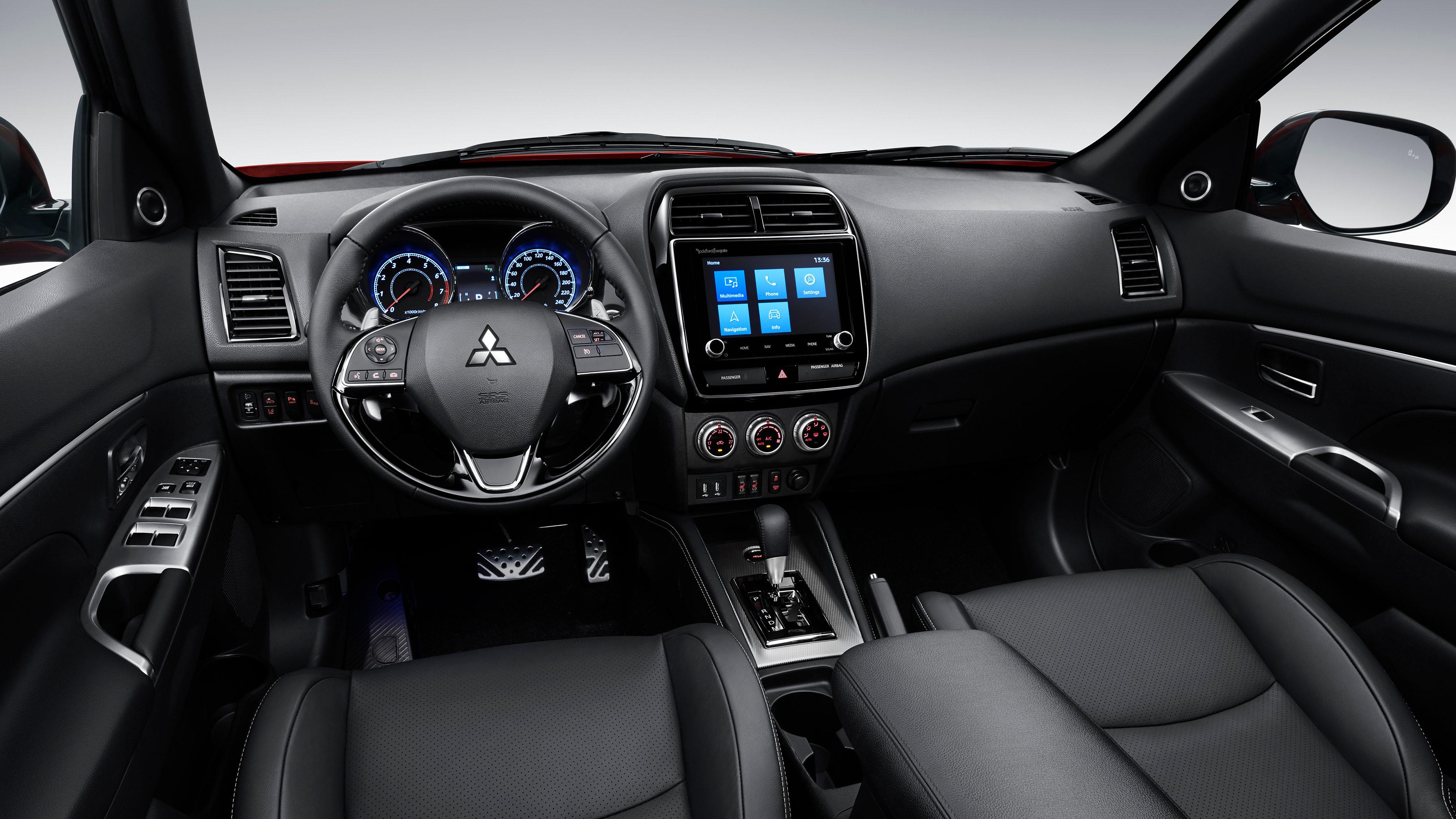 Mitsubishi Outlander 2020 Por Dentro