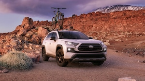2020 Toyota RAV4 TRD Off Road Front Three Quarter