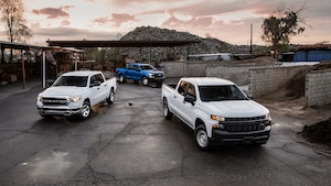 2019 Ford F 150 XL With 2019 Ram 1500 Tradesman And 2019 Chevrolet Silverado WT