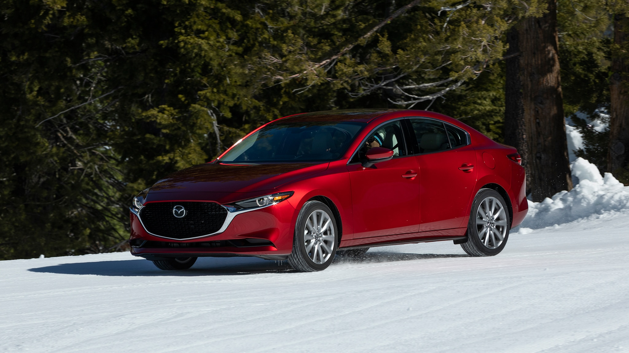 2019 Mazda3 AWD Snow Course 1