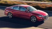 2020 Hyundai Sonata In Motion