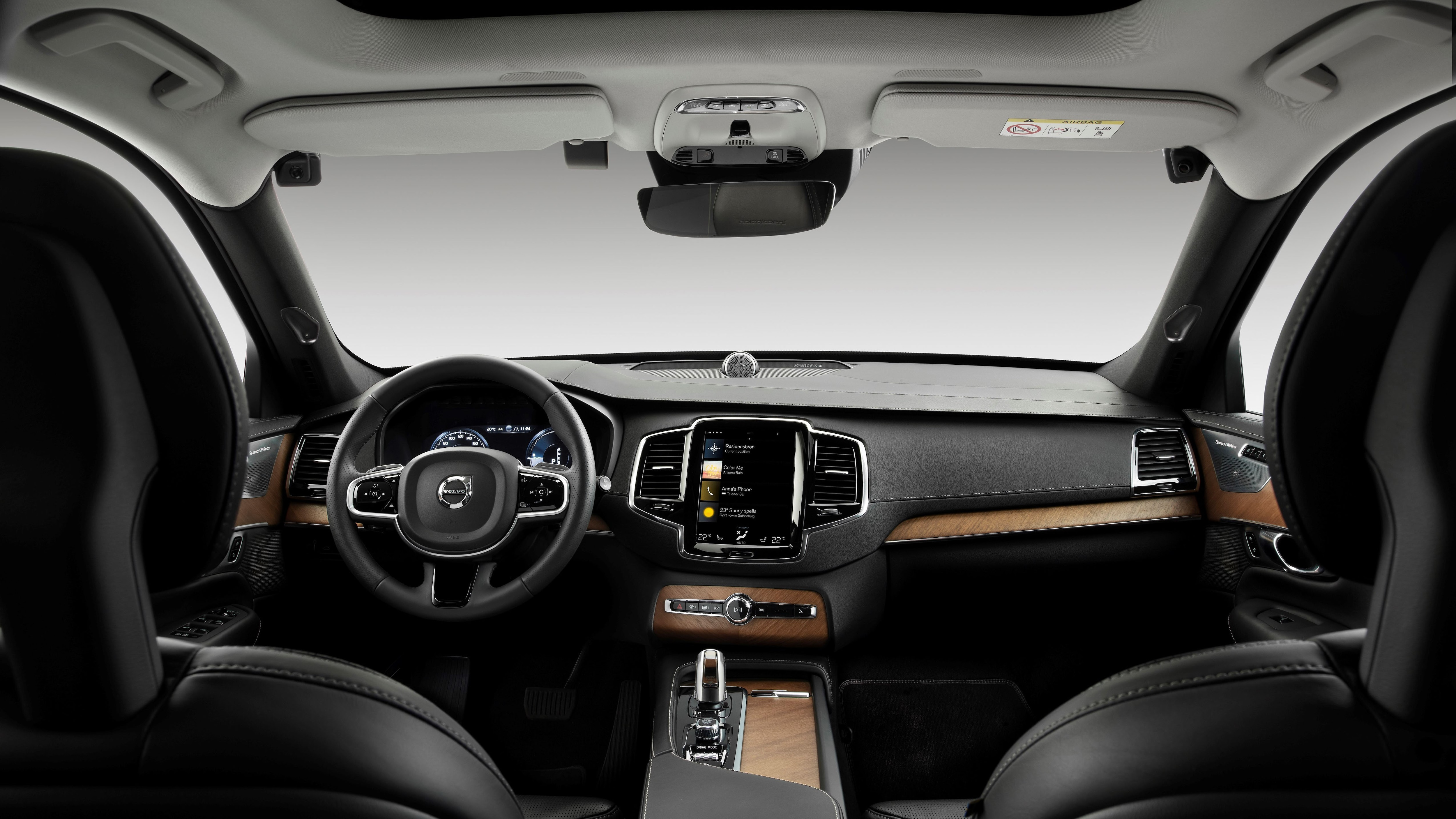 Volvo Driver Monitoring Camera Research Vehicle