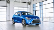 2020 Toyota Yaris Hatchback Front Three Quarters
