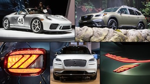 MotorTrend 2019 New York Auto Show Best Of Show Graphic