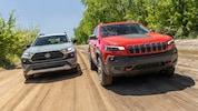 2019 Jeep Cherokee Trailhawk 2019 Toyota RAV4 Adventure 4
