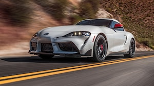 2020 Toyota Supra Launch Edition Front Motion View 2