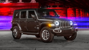 2018 Jeep Wrangler Sahara 4x4 Front Three Quarter