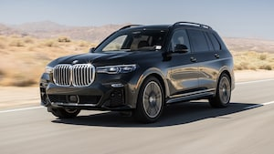 2019 BMW X7 XDrive40i Front Three Quarter In Motion 1