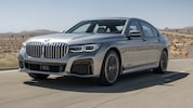 2020 BMW 745e XDrive PHEV Front Three Quarter In Motion1