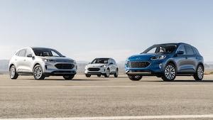 2020 Ford Escape Lineup 2