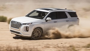 2020 Hyundai Palisade HTRAC Front Side In Motion