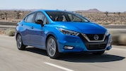 2020 Nissan Versa SR Front Three Quarter In Motion