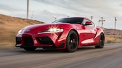 2020 Toyota GR Supra Front Three Quarter In Motion 2