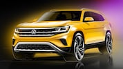 2021 Volkswagen Atlas Sketch 2