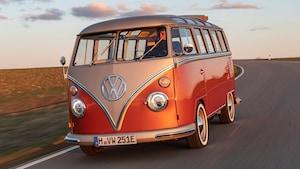 Volkswagen E BULLI Electric 1966 Type 2 21 Window Microbus 5
