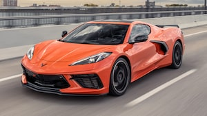2020 Chevrolet Corvette C8 In Orange